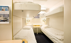 inside cabin dfds